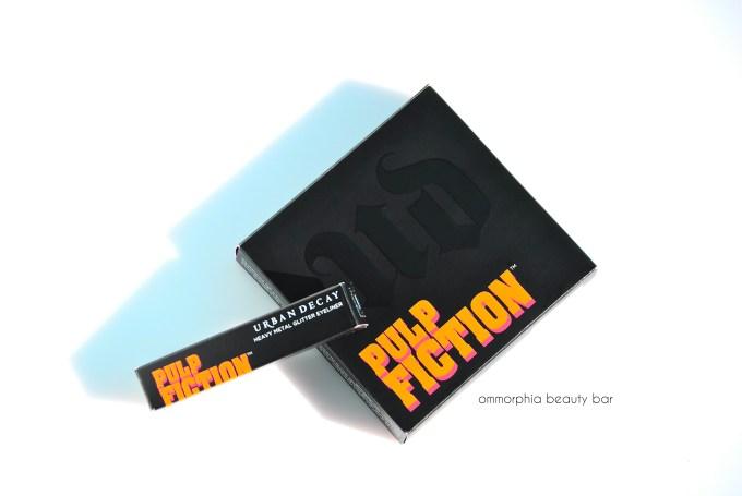 UD Pulp Fiction palette & Glitter Eyeliner opener