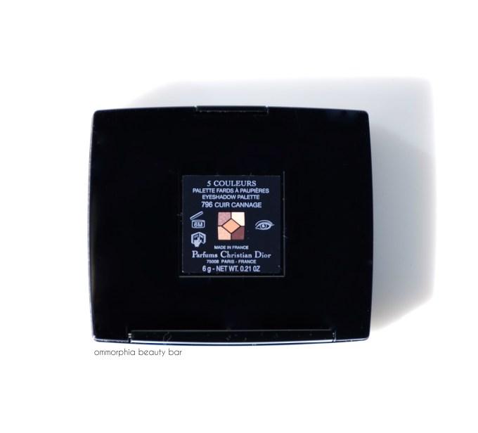 Dior Cuir Cannage label - Version 2