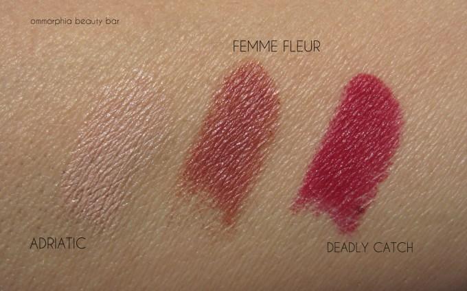 NARS Hardwired lipsticks Holiday 2014 swatches
