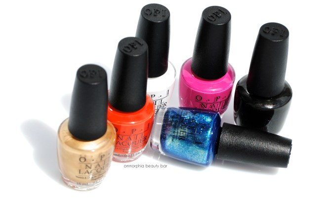 OPI Mustang Collection closer
