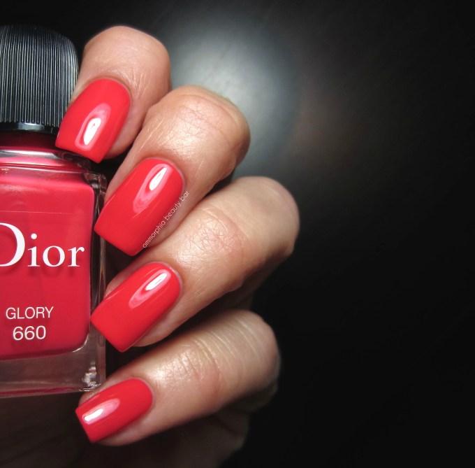 Dior #660 Glory swatch