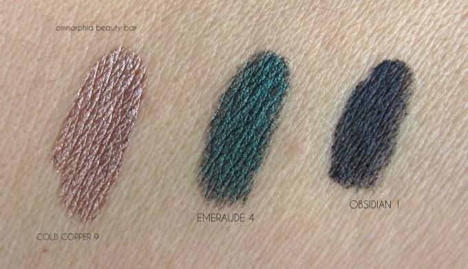 GA Eye Tint swatches