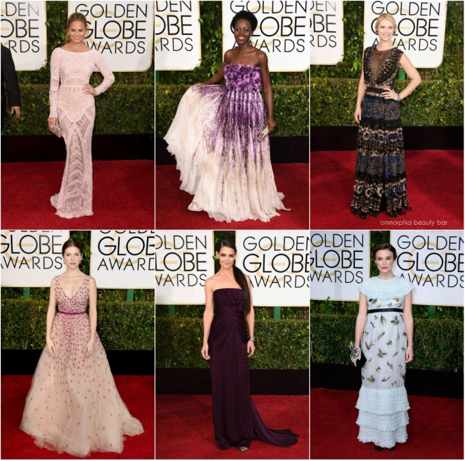 Golden Globes 2015 Embellished collage