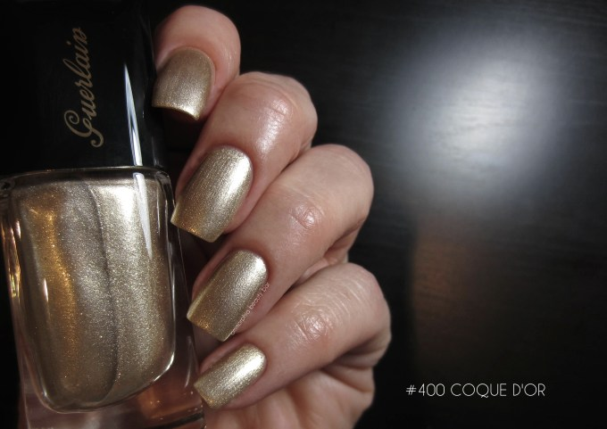 Guerlain Coque d'Or swatch