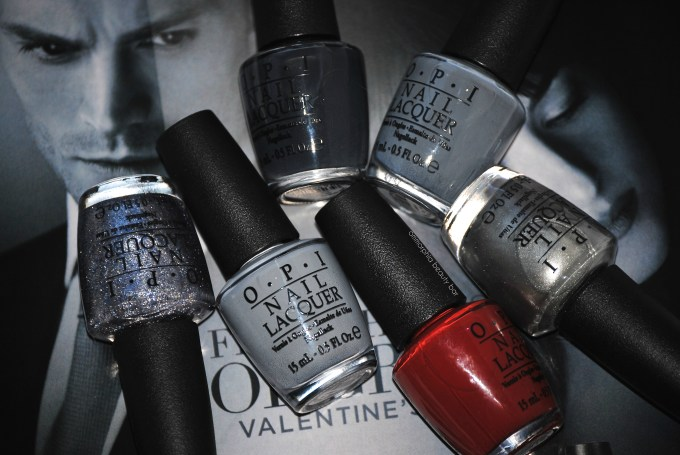 OPI Fifty Shades of Grey opener