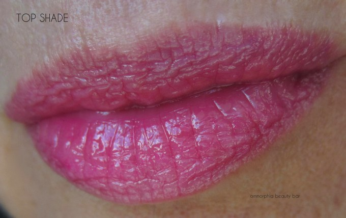 YSL Wildly Gold Palette top lipgloss swatch