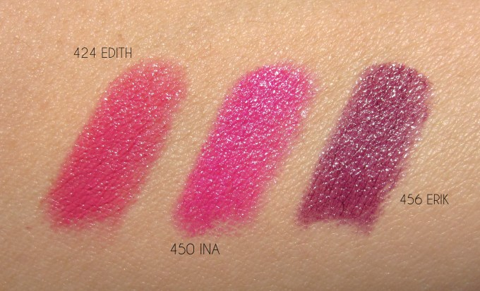 CHANEL Rouge Coco trio swatches
