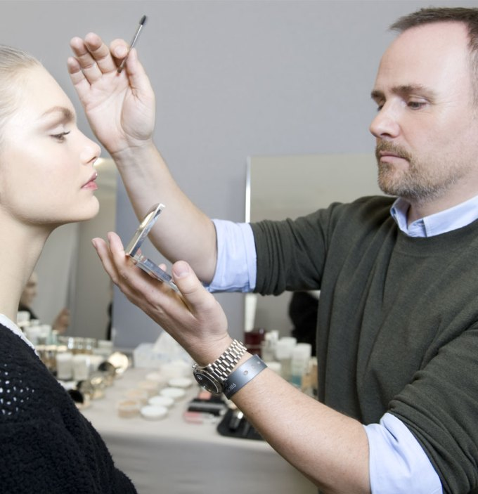 Dior Peter Philips Eye Reviver backstage