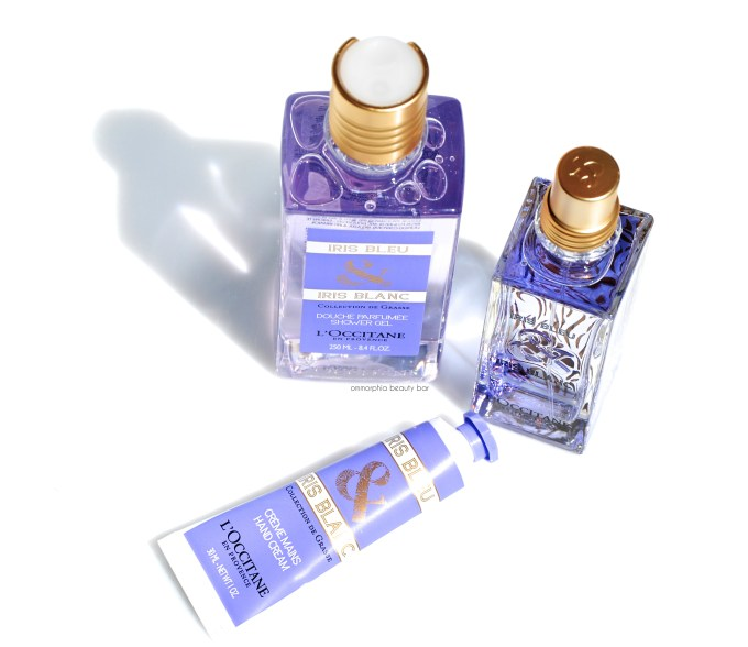 L'Occitane Iris Bleu & Iris Blanc closer 2