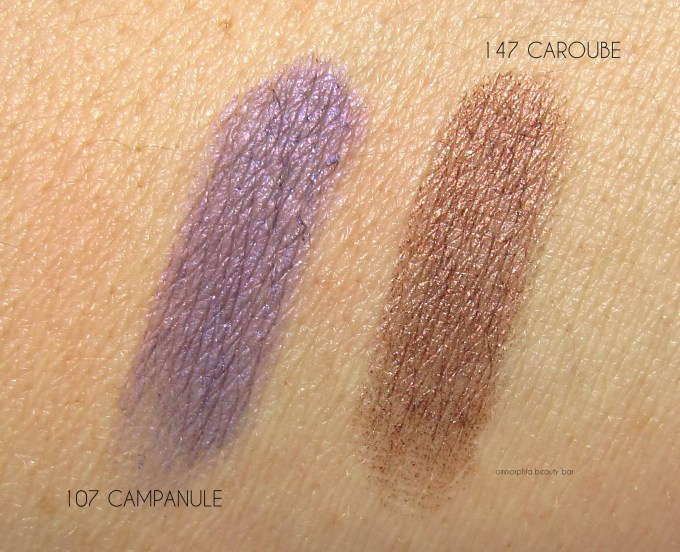 CHANEL Campanule & Caroube swatches