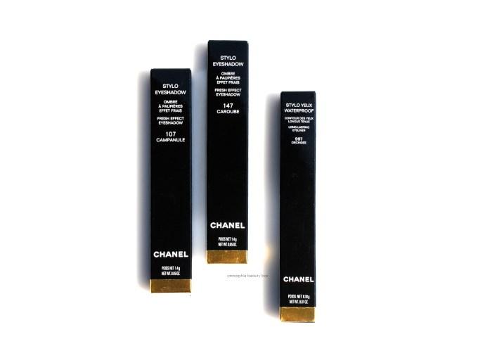 CHANEL Summer 2015 eye pencils boxed