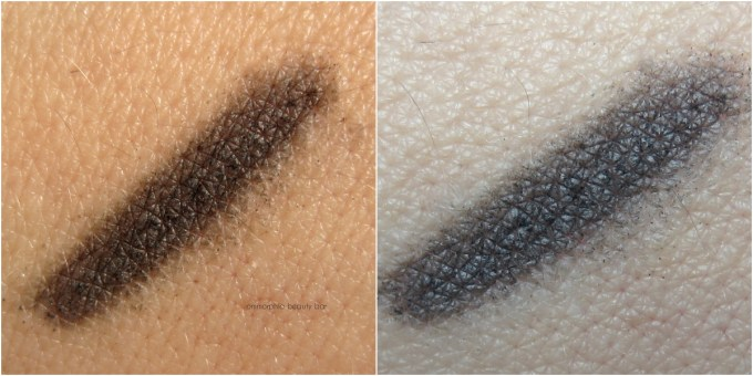 Dior 093 Black Powder Eyebrow Pencil swatches