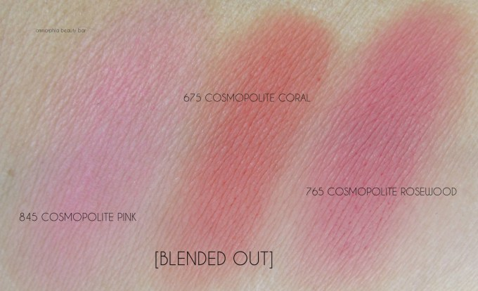 Dior Diorblush Cheek Stick swatches 4