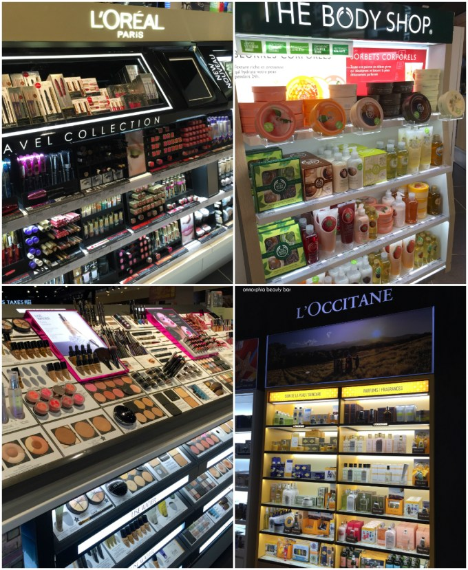 The Loop L'Oreal, Body Shop, L'Occitane, Lise Watier