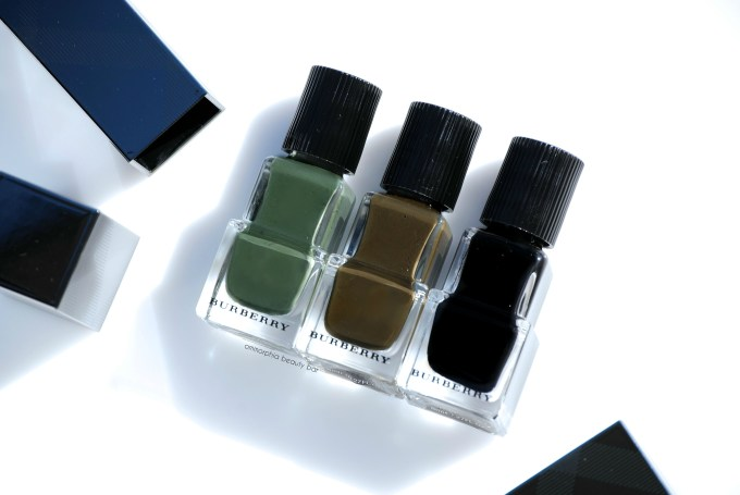 Burberry Fall polishes