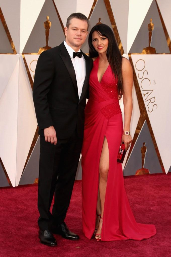 Matt-Damon-Luciana-Damon-Oscars-2016-Red-Carpet-Vogue-28Feb16-Getty_b