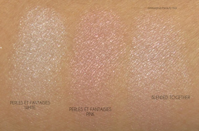 CHANEL Perles et Fantaisies swatches