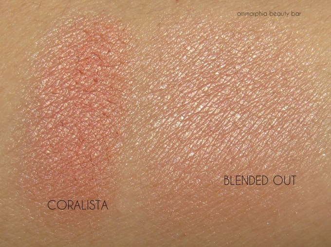 Benefit Cheekathon Coralista swatches