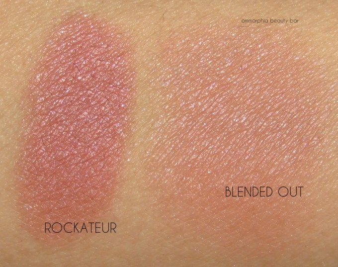 Benefit Cheekathon Rockateur swatches