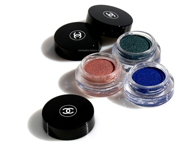 CHANEL Moonlight Pink, Griffith Green & Ocean Light cover