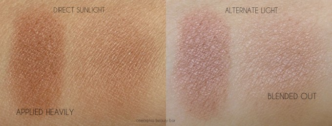 CT Instant Lokk In A Palette bronze swatches