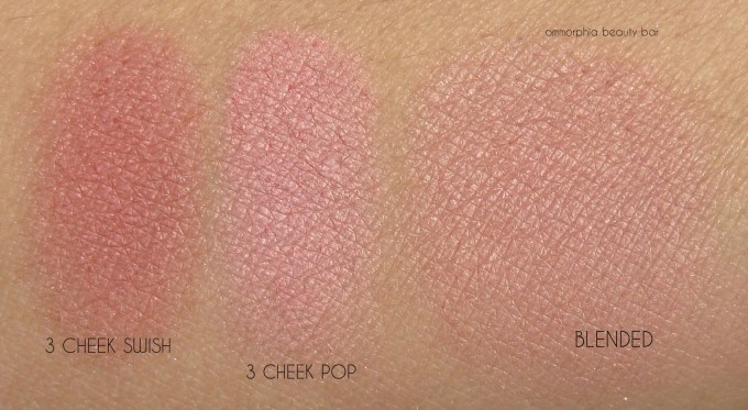 CT Instant Look In A Palette cheek swatches