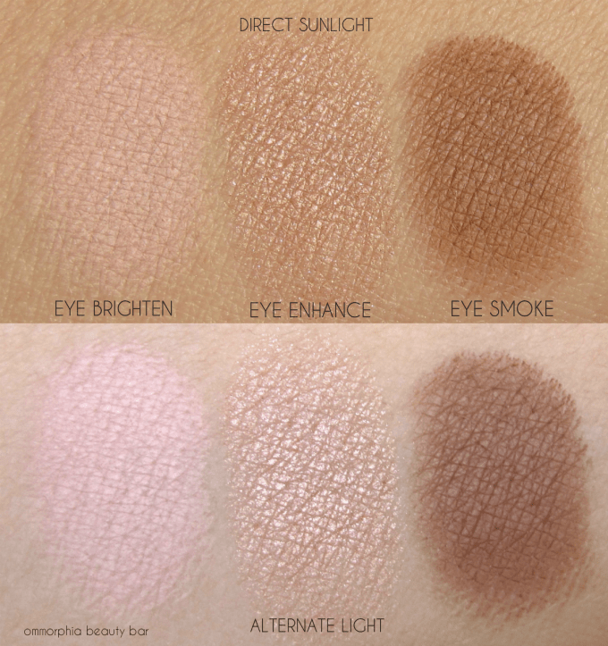 CT Instant Look In A Palette eye swatches