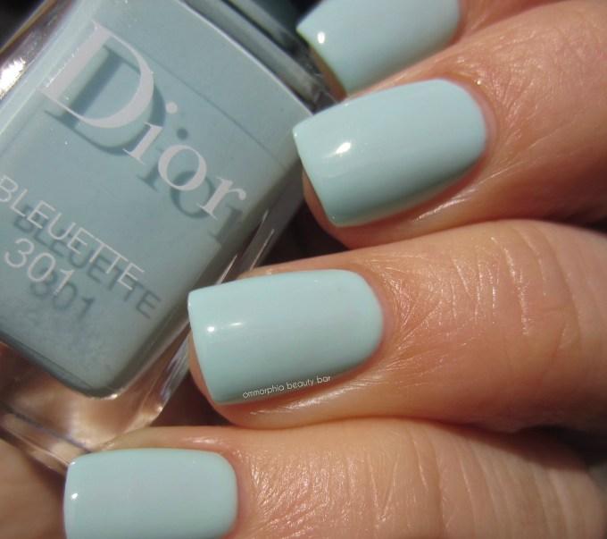 Dior Bleuette swatch 2