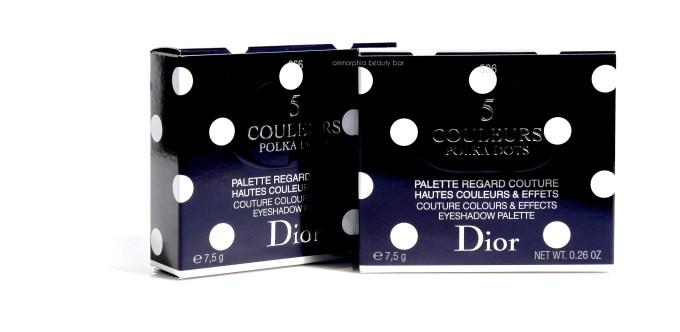 Dior Summer 2016 Eye Palettes boxed