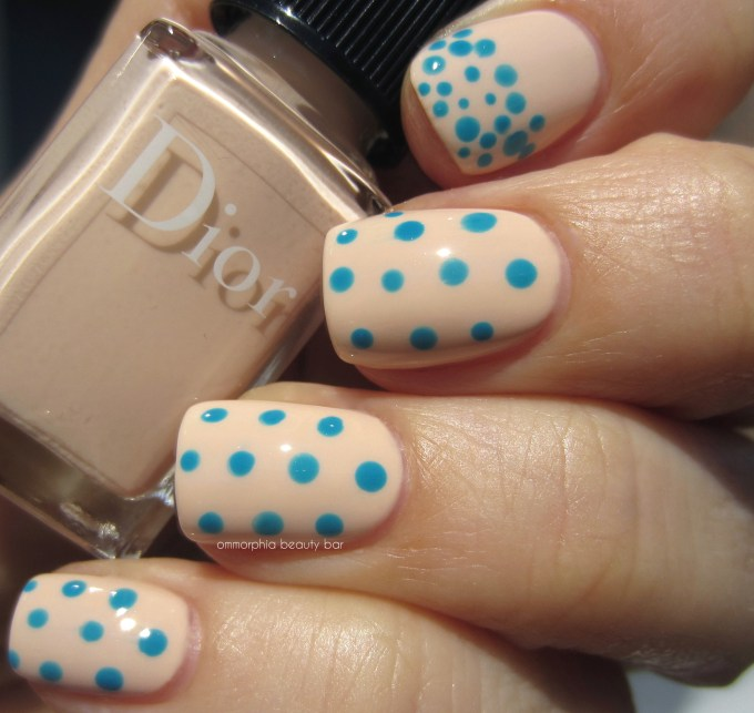 Dior Summer 2016 Pastilles 212 with dots swatch