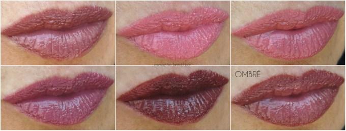 L'Oréal La Palette Lip Nude collage