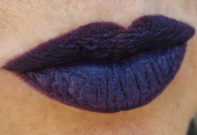 MAC Brooke Candy Witching Hour swatch 1