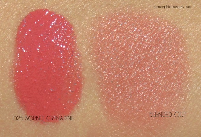Lancome Sorbet Grenadine swatches
