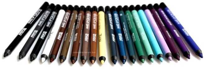 MUFE Aqua XL pencils 2