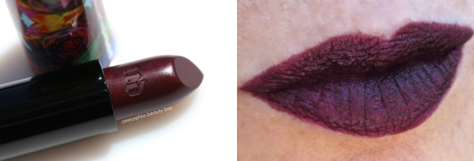 UD Alice Through The Looking Glass Mirana lipstick swatch