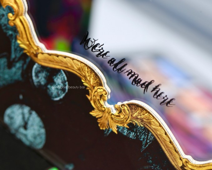 UD Alice Through the Looking Glass mirror detail