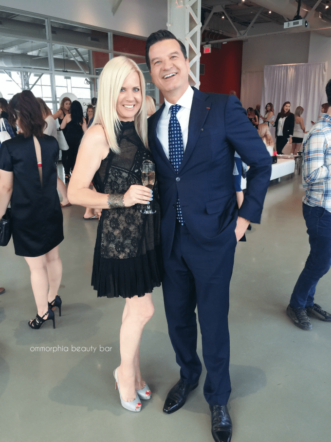 Guerlain event with Thierry Wasser