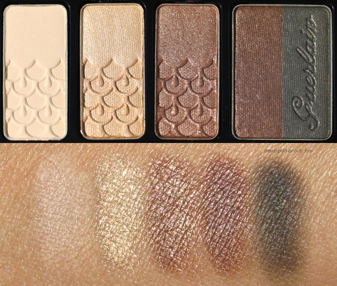 Guerlain Fall 2016 Coque d'Or palette macro & swatches