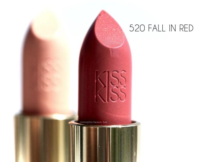 Guerlain Fall 2016 Fall In Red lipstick