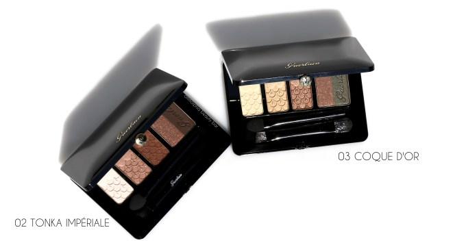 Guerlain Fall 2016 eyeshadow palettes