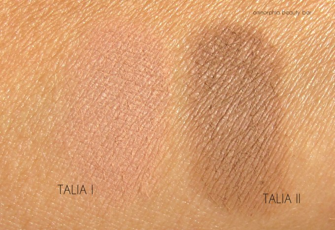 NARS Talia Contour Blush swatches