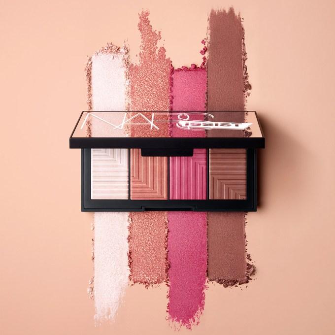 NARSissist Dual-Intensity Cheek Palette campaign