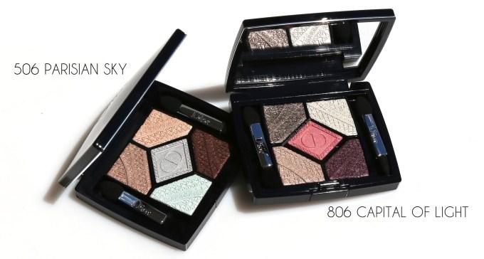 Dior Skyline eyeshadow palettes 1