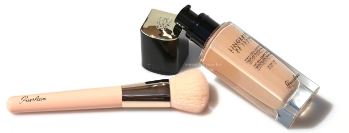 Guerlain Lingerie de Peau Foundation & Foundation Brush