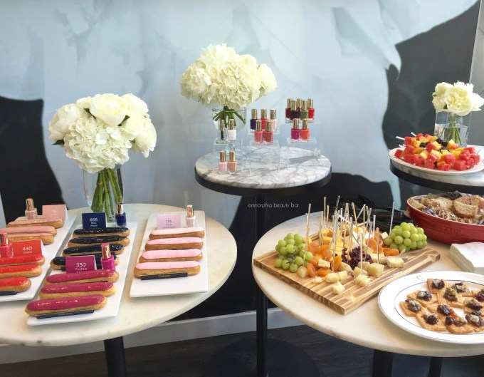 L'Oreal Vernis A L'Huile event greeting 3
