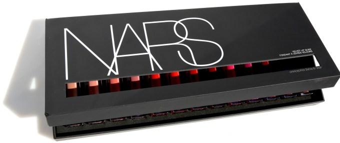 NARS Velvet Lip Glide press box