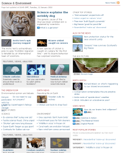 No climate change news at the BBC
