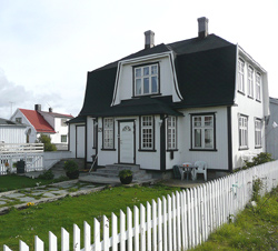 House in Henningsvær, Norway