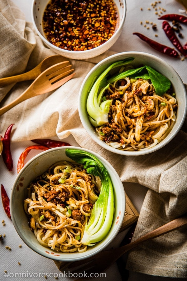 and authentic approach to the famous Sichuan snack – Dan Dan Noodles ...