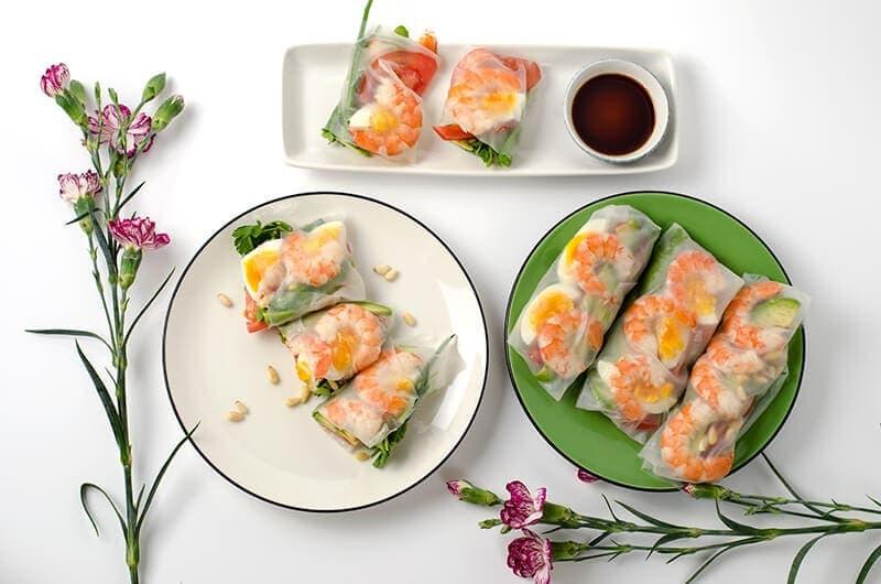 Avocado Shrimp Roll | Omnivore's Cookbook